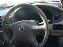 ステアリング交換と助手席ドア内張り交換と助手席シートベルト交換(一言で済まそうとしている