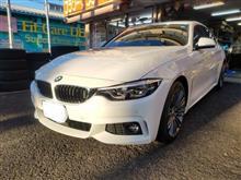 BMW:F36にスタッドレスSETをお取り付け! FIT都筑店です(*'▽')
