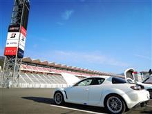 今年1番の走行は富士レーシングコースで。