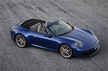「ポルシェ・911カブリオレ(2020)」/ジュネーブモーターショー2019