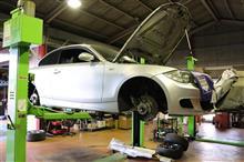 BMW E82 135 車検整備&メンテナンス