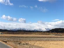 今日の鈴鹿山脈