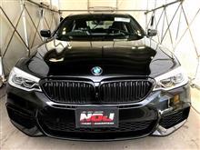 ★★キャンペーン内容有り!★★ BMW・523d  ガラスコーティング施工  NOJ伊丹川西 神戸 宝塚 豊中 箕面 大阪