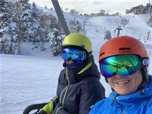 志賀高原へスキー!