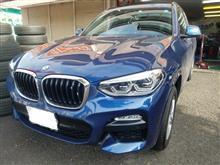 BMW:現行X3(G01)にスタッドレスSETをお取り付け! FIT都筑店です(*'▽')