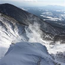 快晴の網張温泉スキー場