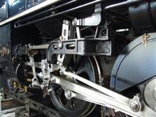 ライブスチーム蒸気機関車の修理を実施