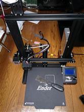 3Dプリンター生活始まる