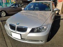 BMW:E90にスタッドレスSETをお取り付け! FIT都筑店です(*'▽')