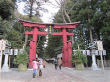 冬の弥彦神社へ初詣
