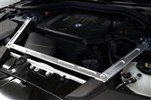 BMW 5シリーズ G30,G31用 ストラットブレース & 523d用マフラー完成