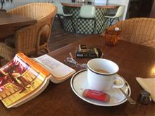 時間調整の喫茶店