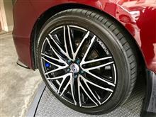 タイヤの外径と燃費計