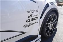 東京都へC-HRエアサス&ROWENコンプリートカーをご納車