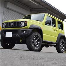 ジムニーシエラ JB74W 5MT車 開発車両募集中!です。