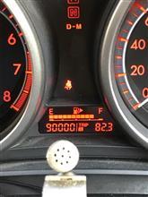 90000キロ達成!