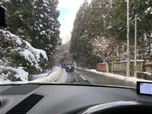 ポルシェ カイエンで雪道アタック!京都美山の雪灯籠を見に行って来ました(^^)
