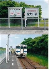 JR最南端の駅で気動車を迎える(笑)