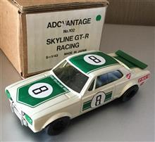 レアな1/43日本製アンチモニーのハコスカGT-Rレーシングです♪