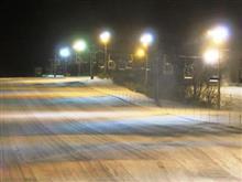 18-19 スキーNo.25 ナイター練習は寒かったぁ。