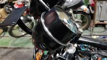 バイクメーター用かしめ冶具