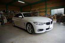 BMW 4シリーズ グランクーペのオーディオグレードアップ