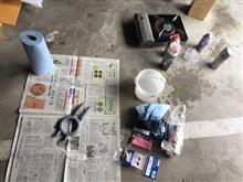 エアロパーツ塗装