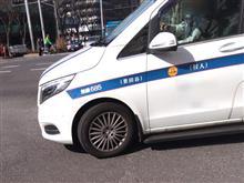これもメルセデスタクシー。