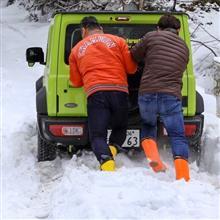 雪のアトラクション…🤗