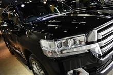 トヨタ・ランドクルーザー200のガラスコーティング、内装コーティング【リボルト湘南】