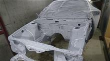 『親父が息子のために作るハチロクプロジェクト(笑)』 ハチロク8号車(その4)~トランク、エンジンルーム、下回り塗装!