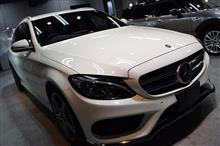 「展示車」メルセデスベンツ Cクラスワゴンのガラスコーティング【リボルト神戸】