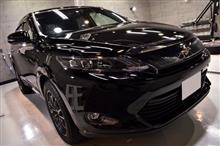 JAPAN SUVの指標、トヨタ ハリアーのガラスコーティング【リボルト秋田】