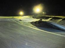 18-19 スキーNo.49 ホームゲレンデで今シーズン最後のナイターレッスン
