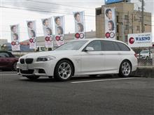 メンテナンスは大事...BMW F11 523 エンジンオイル交換 4CT-S