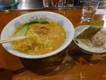 味噌担々麺と丼