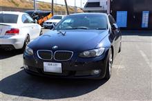 BMW E93 335 ATF交換