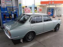 初代カローラ(KE11)の燃費