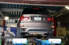 BMW E70 X5 のお客様から!