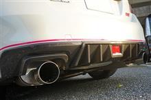 WRX STI/S4用ドライカーボンリアバンパーカバーの予約販売開始!