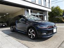 VW POLO GTI にソニックプラスの取付です。