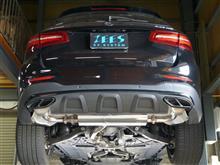 GLC43 AMG フルマフラー製作!!