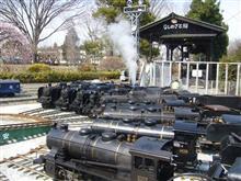 勢揃いしたカマ達に囲まれた3月の蓮田RBK定例運転会に参加