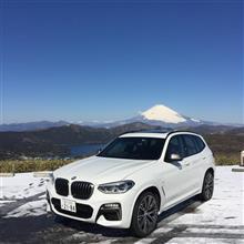 箱根はまさかの雪景色