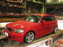 BMW 130i ワンオフマフラー!