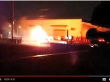 怖い! 車が炎上!爆発! 動画