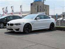 メンテナンスは大事...BMW F82 M4...エンジンオイル交換 ワコーズ4CT-S 5W40