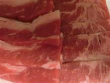 夜は牛肉にしています