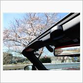 通勤快速ロードスターRFと桜。