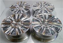 ハリアー純正18インチ鋳造(CAST)ホイールのバレル3次元研磨ノークリアー